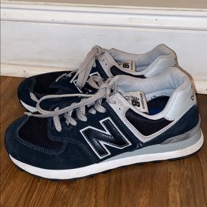 Womens New Balance 574 Tennis Shoes/Sneakers